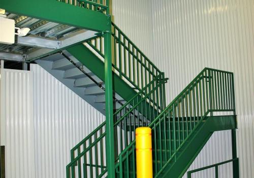 Steel Mezzanine Kits : Mezzanine systems what we do waikato inc
